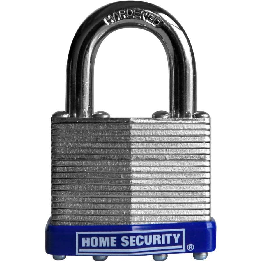 "HOME SECURITY:2"" Laminated Steel Padlock"