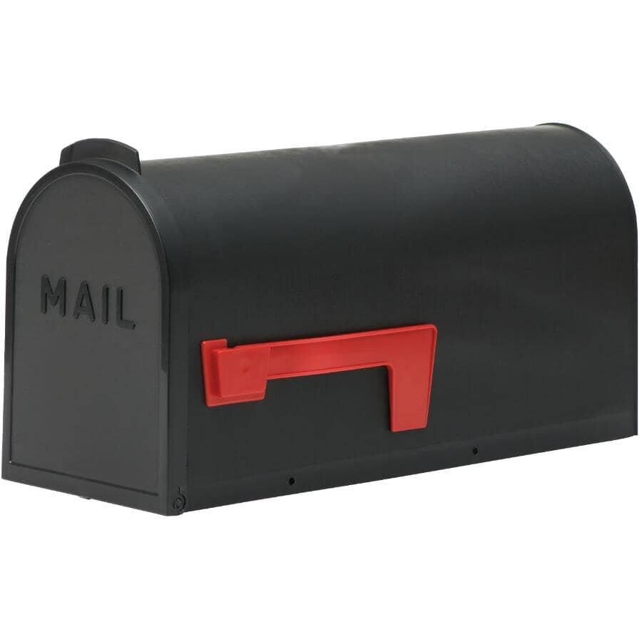 FLAMBEAU:Boîte aux lettres rurale, noir