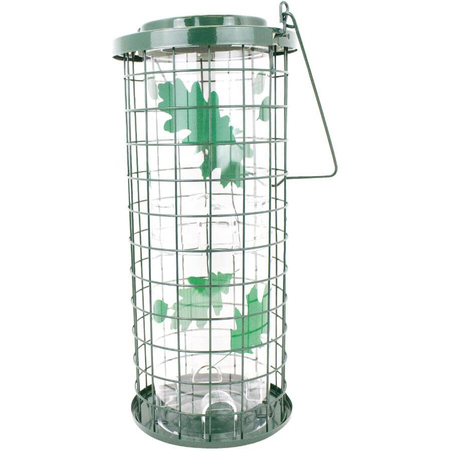 PERKY PET:Squirrel Stumper Bird Feeder - 3 lb Capacity