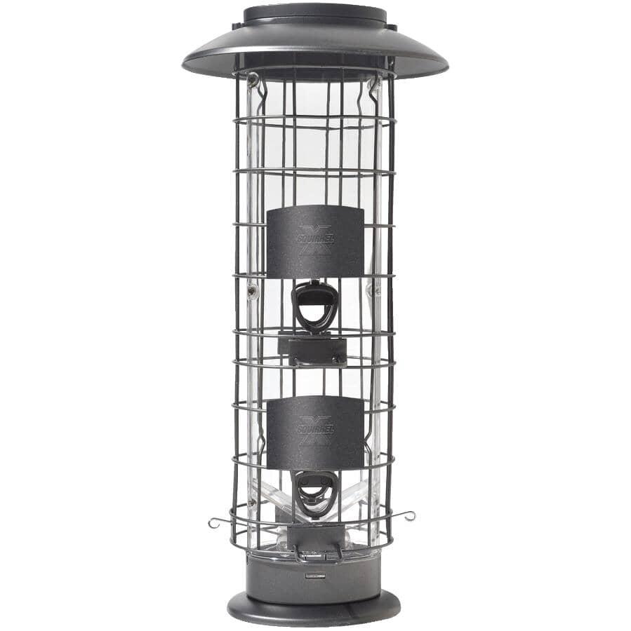 SQUIRREL-X:X-4 Squirrel Proof Bird Feeder - 1.5 lb Capacity