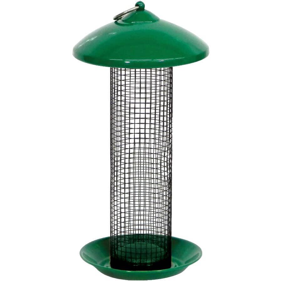 STOKES SELECT:Screen Bird Feeder - Green, 1.7 lb Capacity