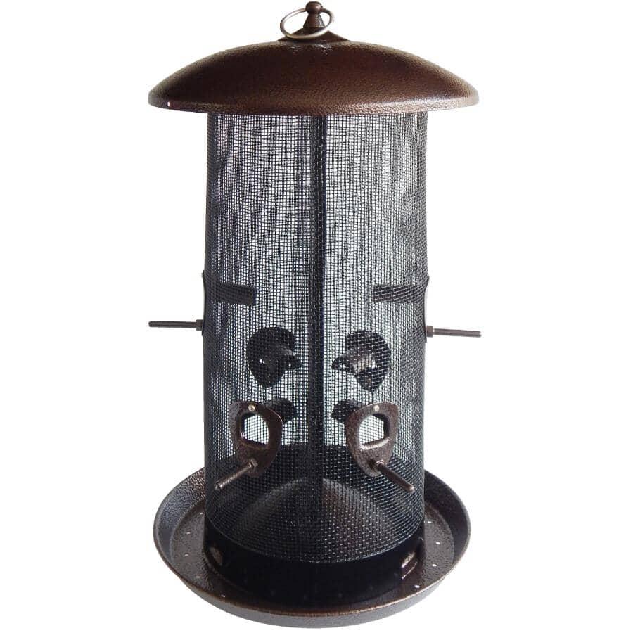 STOKES SELECT:Giant Combo Screen Bird Feeder - Brown, 10 lb Capacity