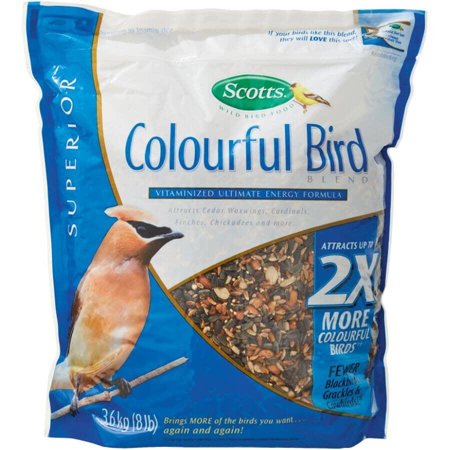 SCOTTS WILD BIRD FOOD:Mélange de graines pour oiseaux colorés, 3,6 kg