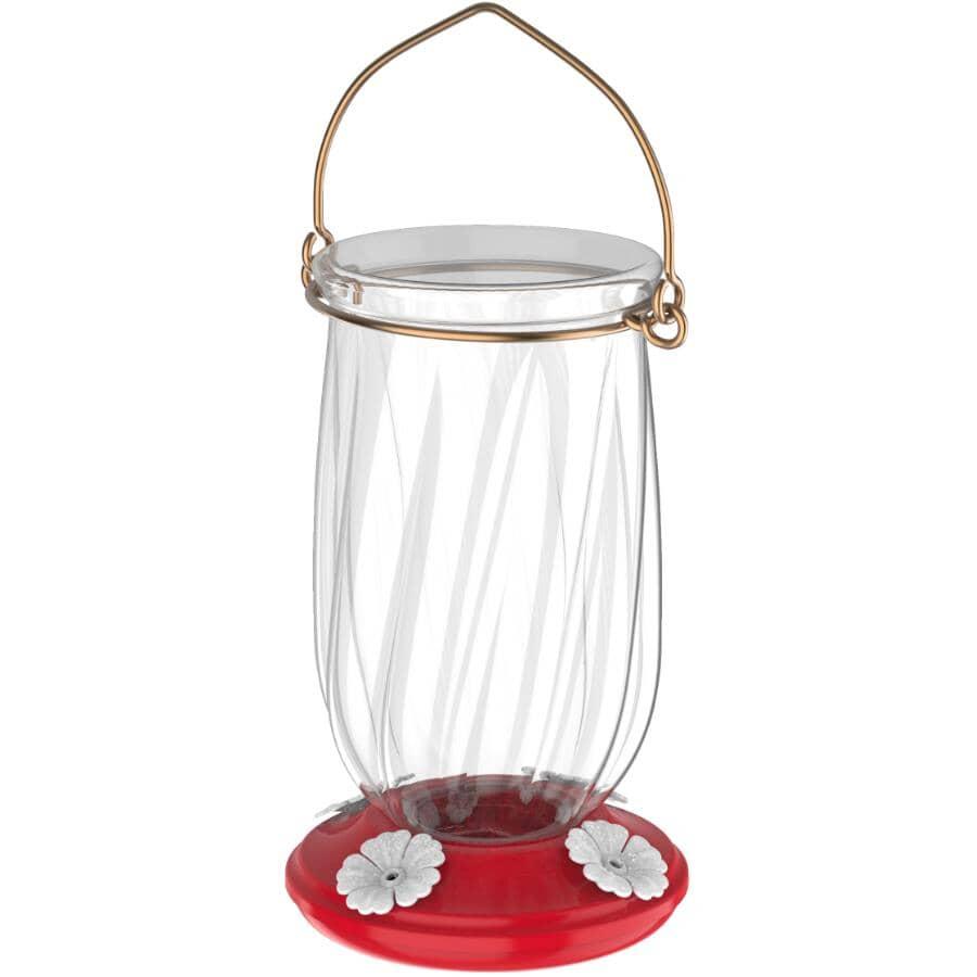 MORE BIRDS:Tulip Plastic Hummingbird Feeder - 5.5 oz