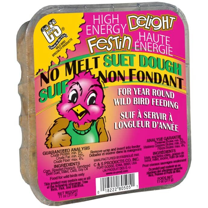ARMSTRONG:No Melt Bird Suet Dough - High Energy, 311 g