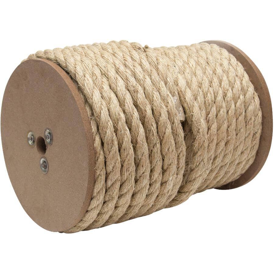 "KINGCORD:1' x 1/2"" Twisted Sisal Rope"