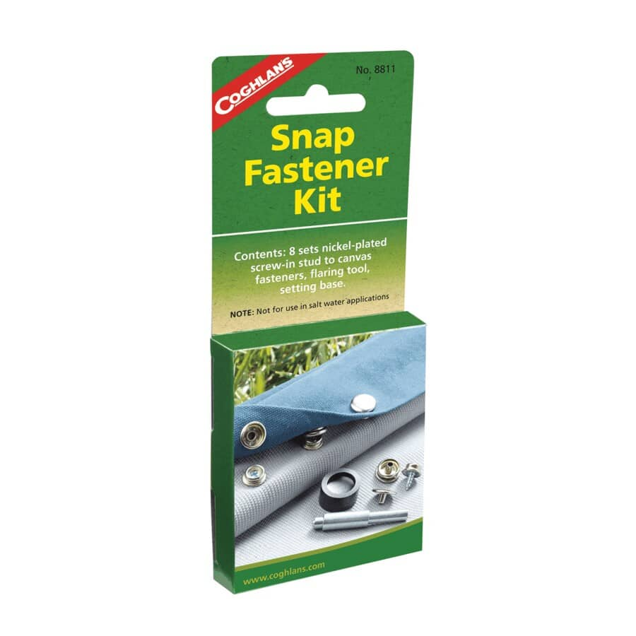 COGHLAN'S:16 Piece Snap Fastener Kit
