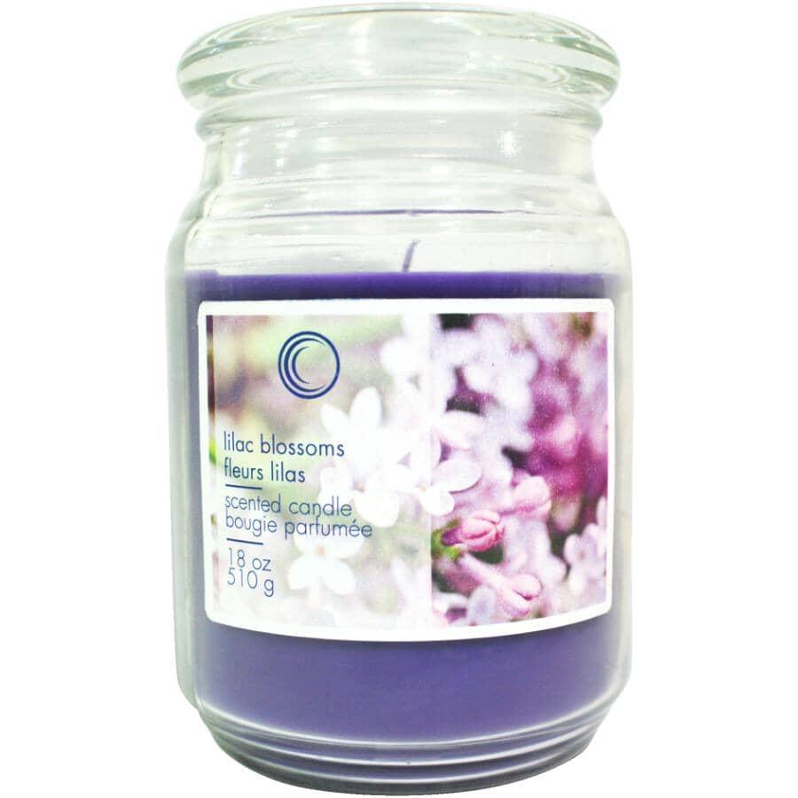 CANDLE CONCEPTS:Lilac Blossoms Jar Candle - 18 oz