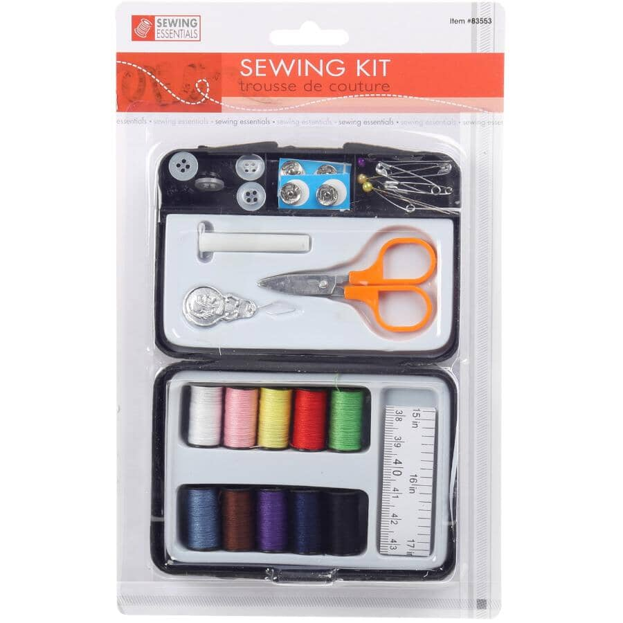 SEWING ESSENTIALS:Travel Sewing Kit