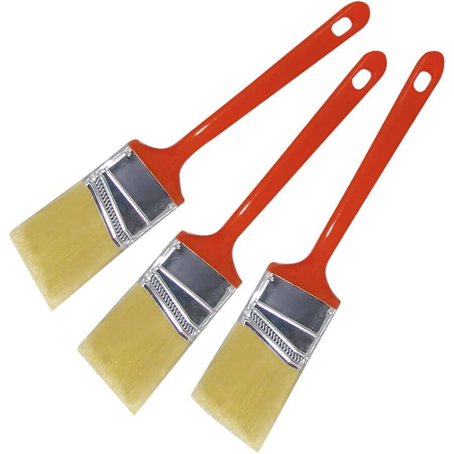 "PINTAR:Angular Sash Paint Brushes - 1.5""/38 mm, 3 Pack"