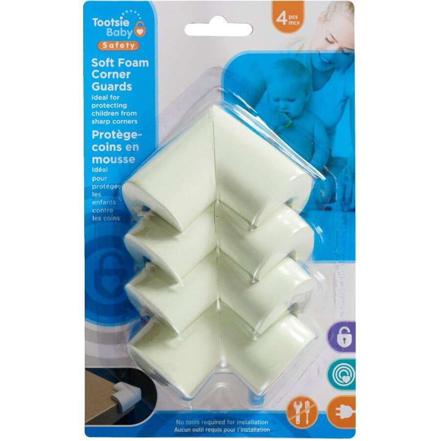 TOOTSIE BABY:Child Safety Soft Foam Corner Guards - 4 Pack