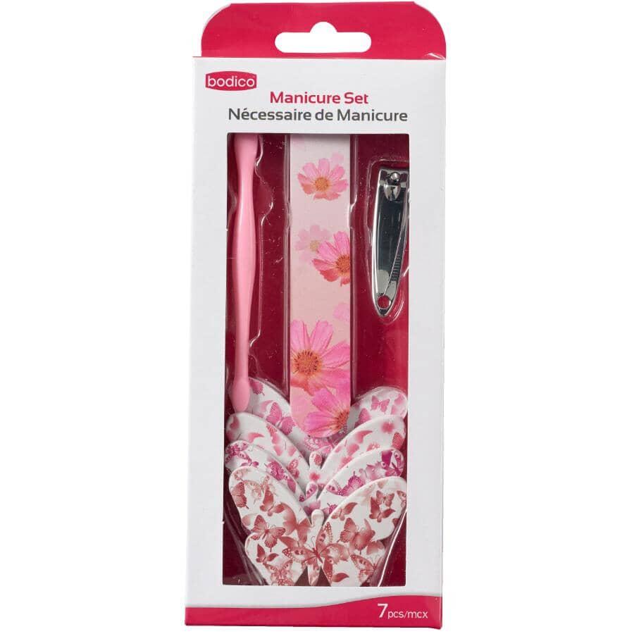 BODICO:Manicure & Pedicure Kit - Assorted Kits, 7 Pieces