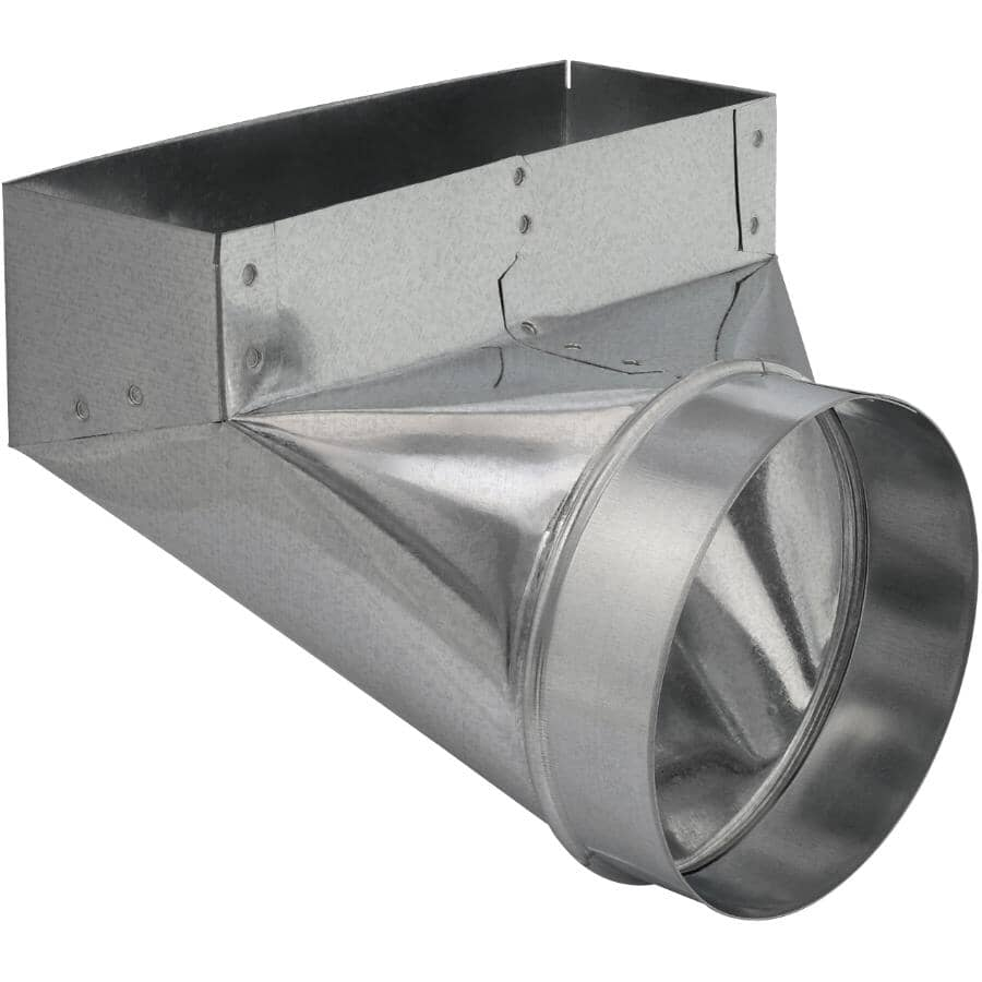 """IMPERIAL MANUFACTURING:3-1/4"""" x 10"""" x 6"""" Angle Boot Duct"""