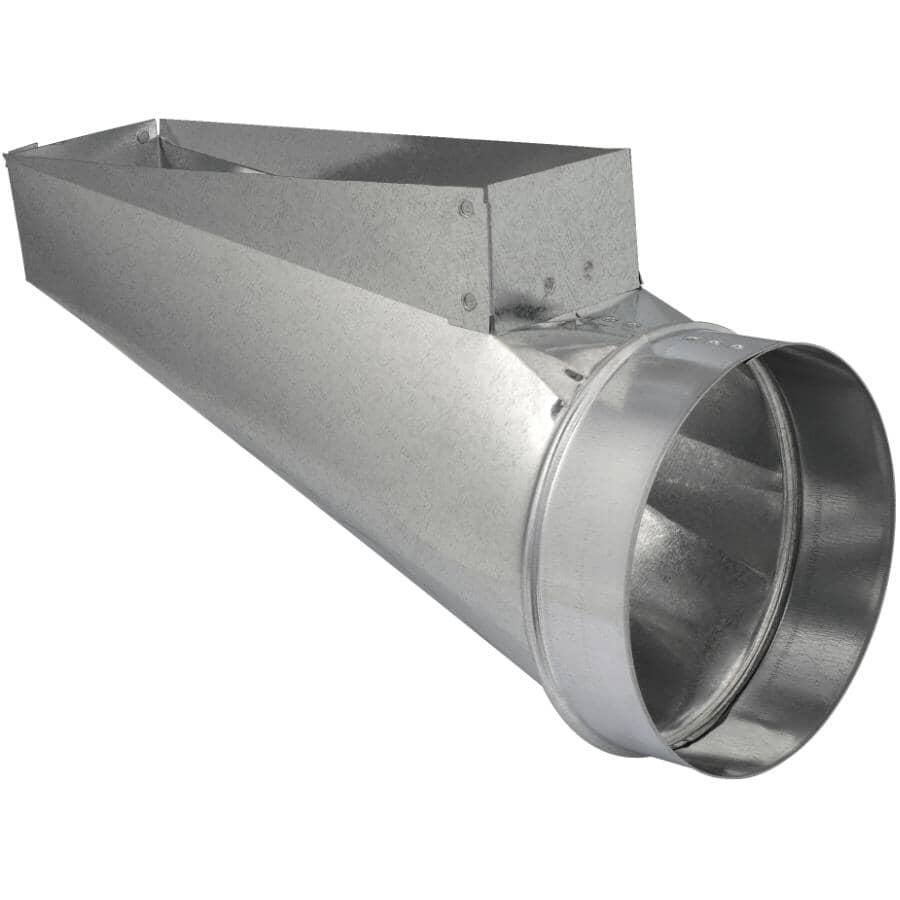 """IMPERIAL MANUFACTURING:3-1/4"""" x 10"""" x 6"""" End Boot Duct"""