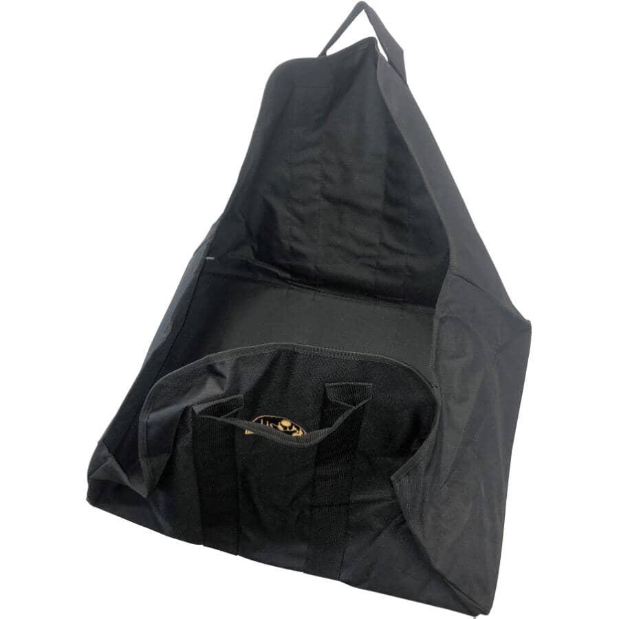 PROPOUCH:Black Nylon Log Carrier