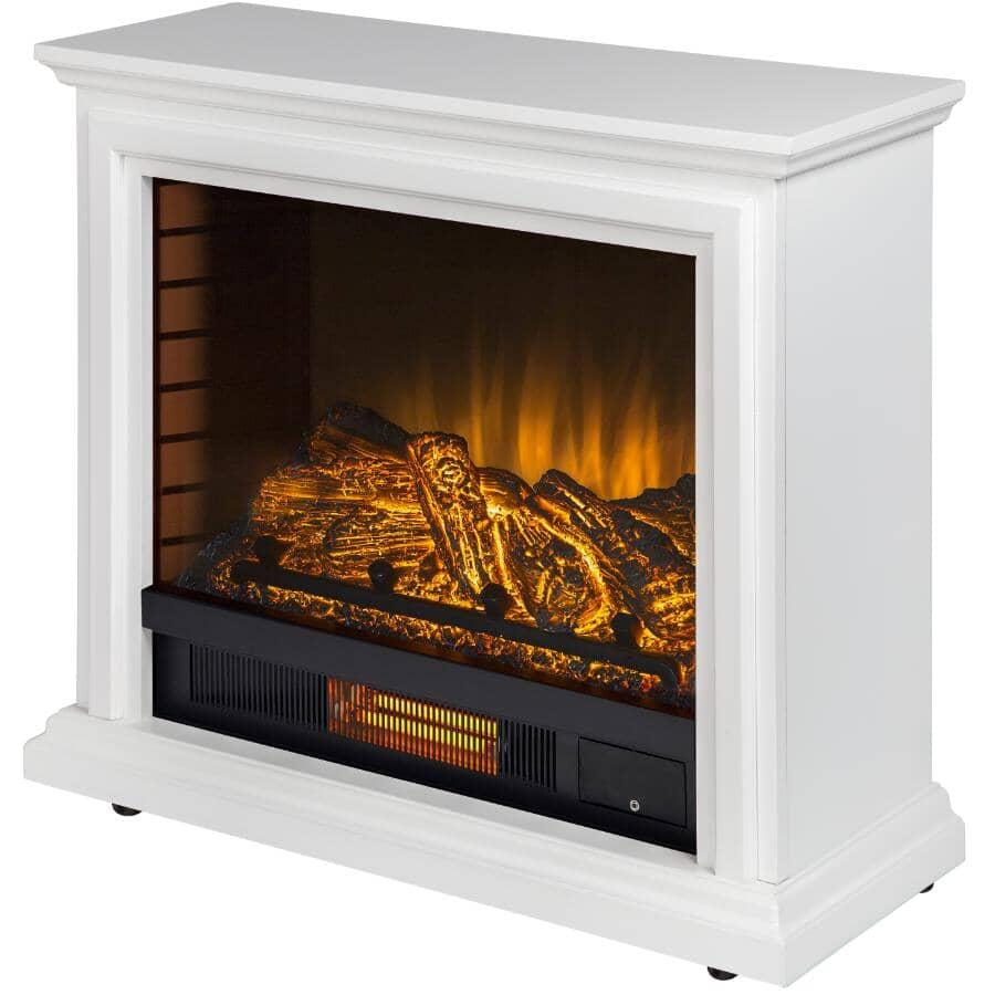 "PLEASANT HEARTH:Sheridan 31"" Electric Fireplace - White"
