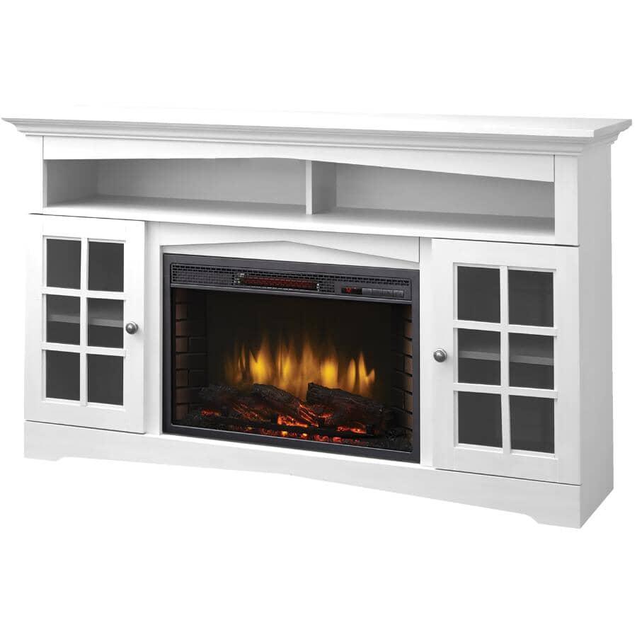 "MUSKOKA:Huntley 59"" Media Fireplace - White"