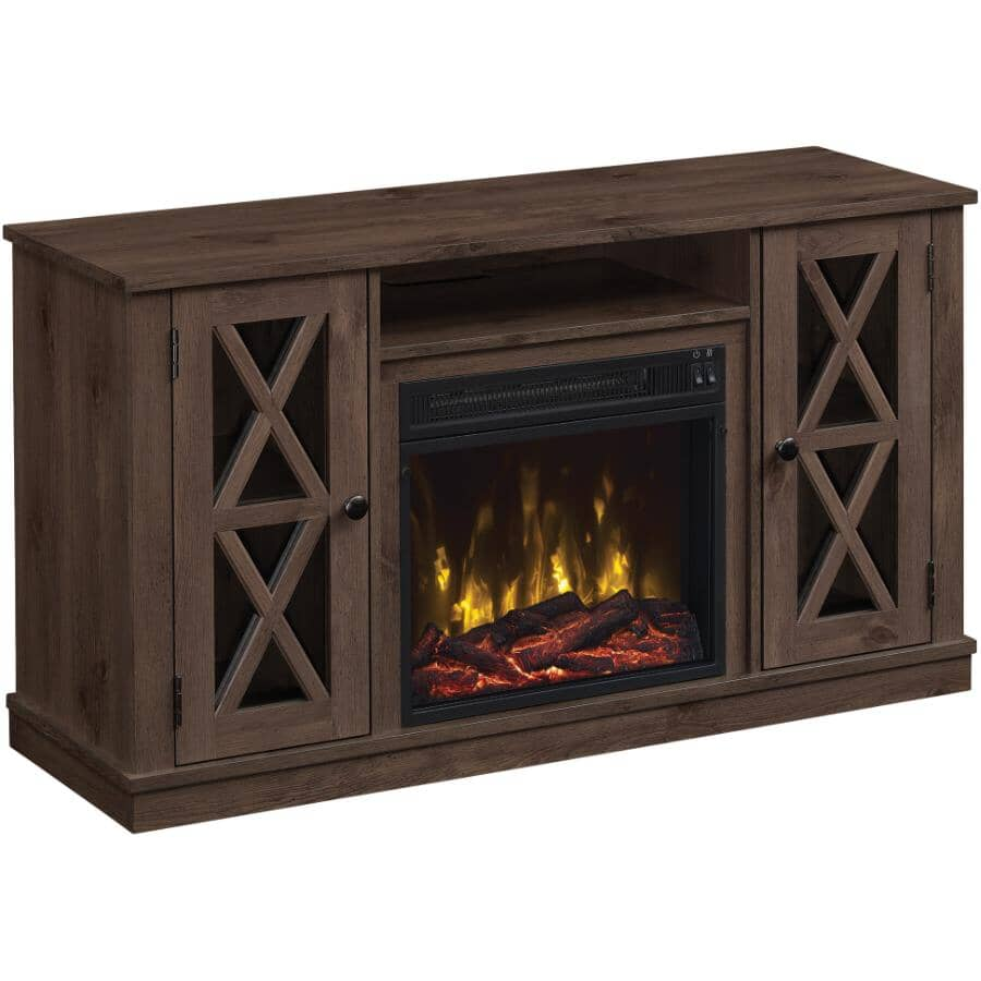 """TWIN STAR HOME:Lukas 47.5"""" Media Electric Fireplace"""