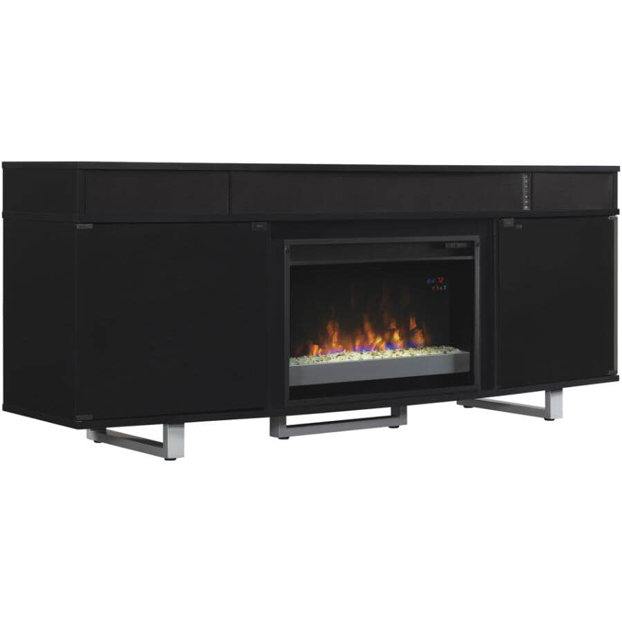 """TWIN STAR HOME:New Enterprise 72"""" Media Electric Fireplace"""