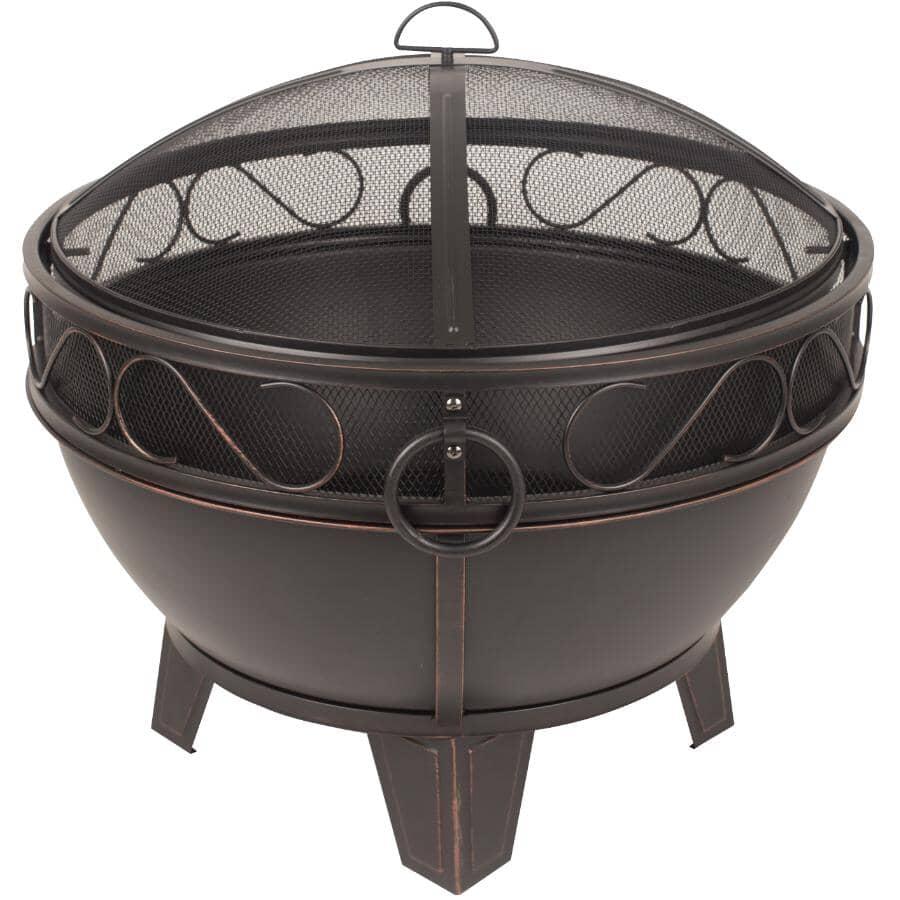 "PLEASANT HEARTH:28"" Round Bellora Wood Burning Firebowl"