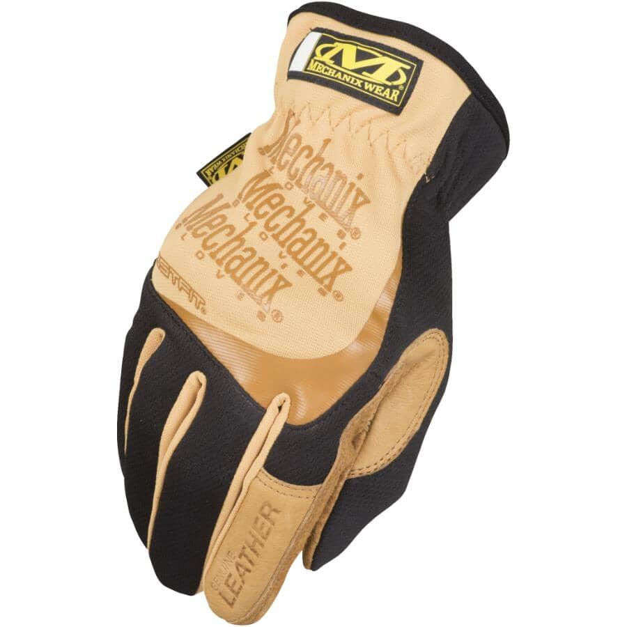 MECHANIX WEAR:FastFit DuraHide Leather Mechanics Gloves - Medium