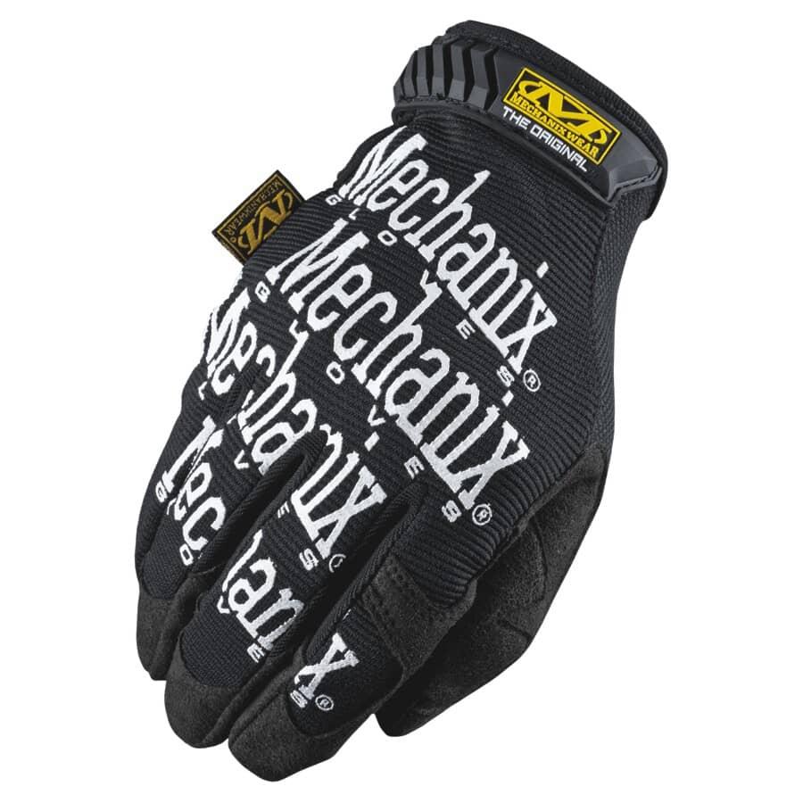 MECHANIX WEAR:Original Padded Top Mechanics Gloves - Extra Large, Black