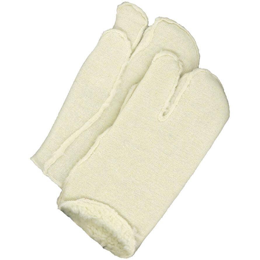BOB DALE:Men's One Finger Fleece Liners - Large