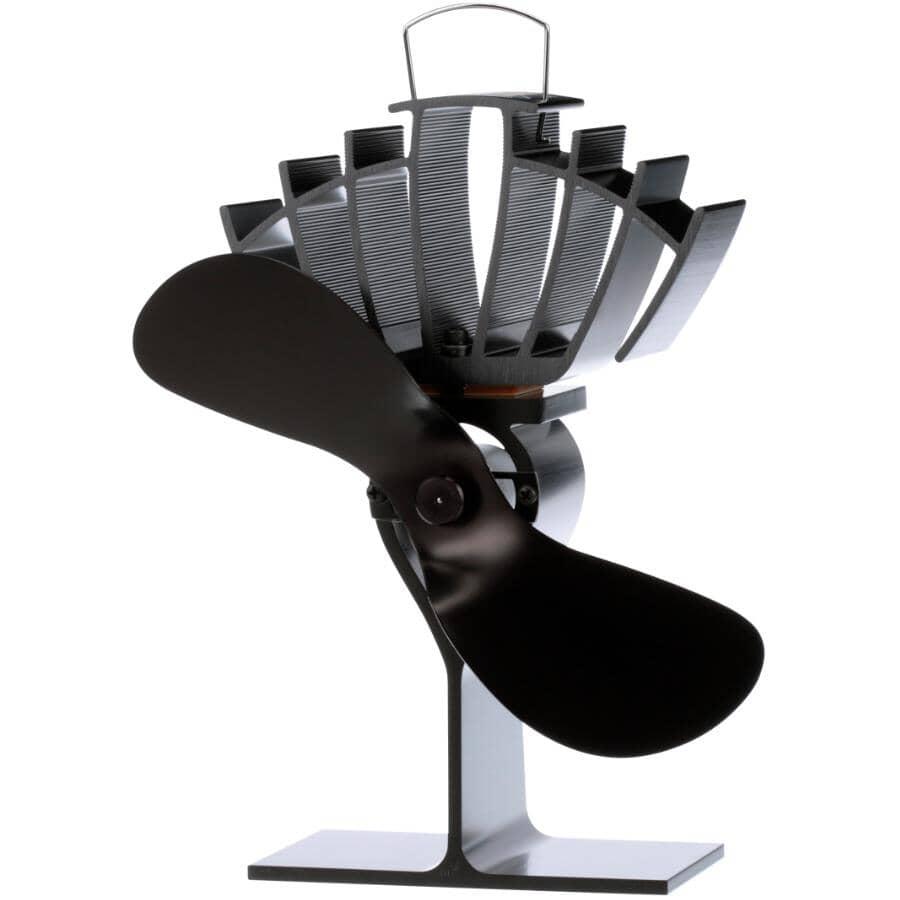 ECOFAN:Ultrair Wood Stove Fan - Black Blade