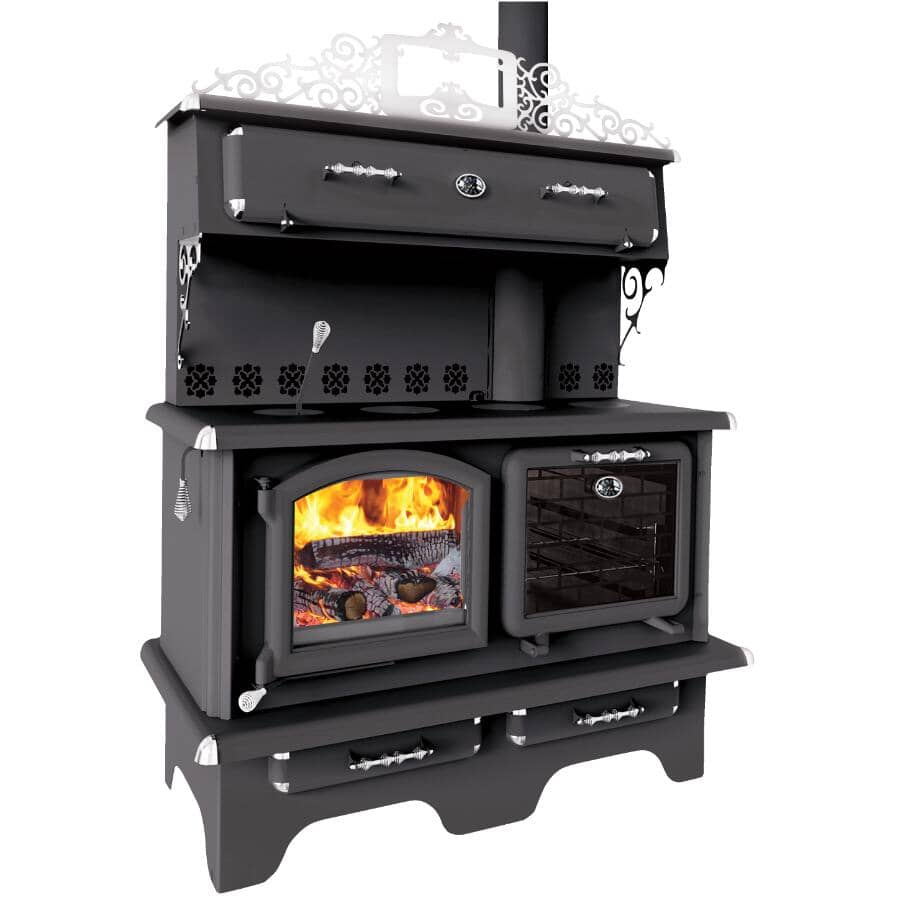 J.A.ROBY INC:Cuisiniere Wood Cookstove