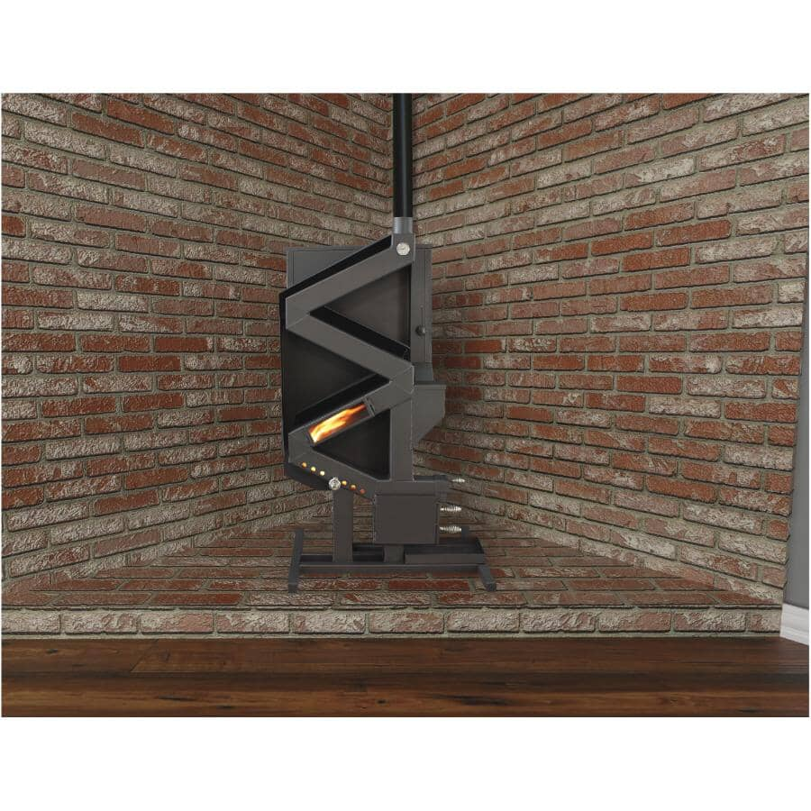 WISE WAY:Non-Electric Pellet Stove