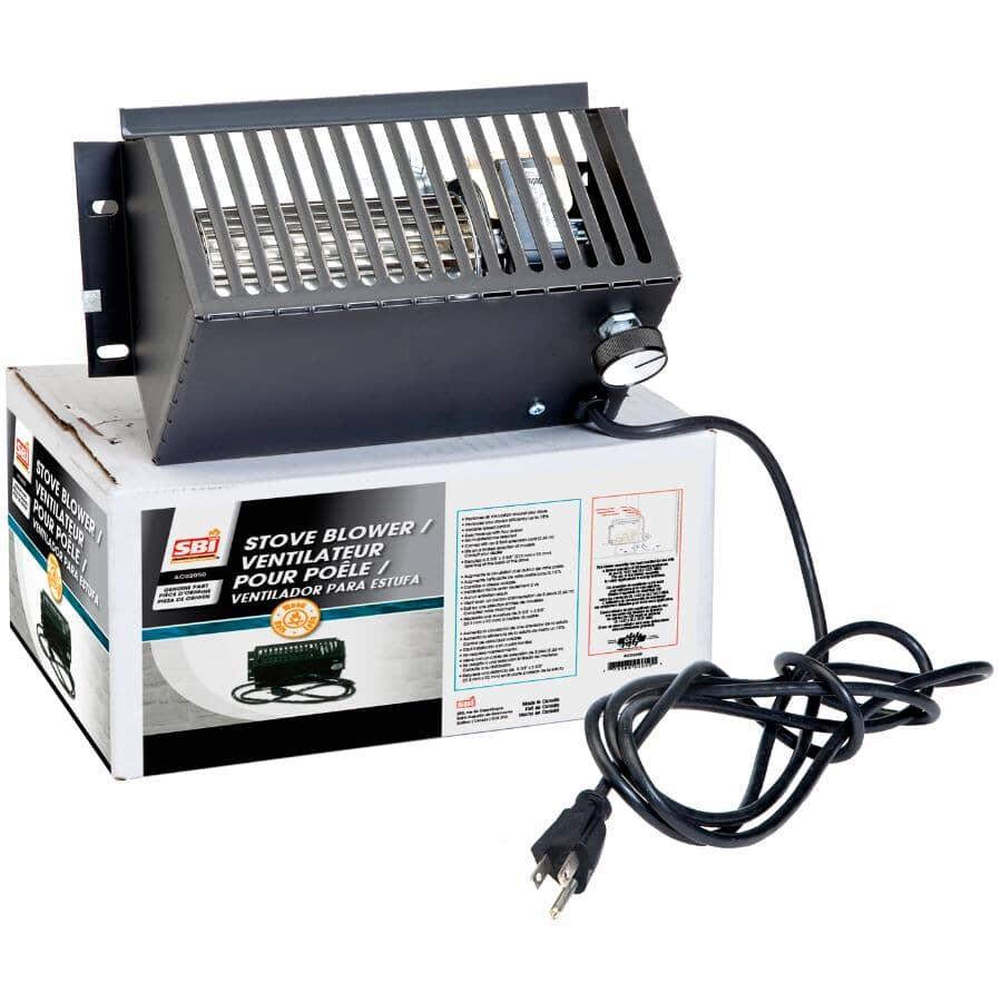 SBI:Ventilateur ultra silencieux pour poêles à bois Drolet