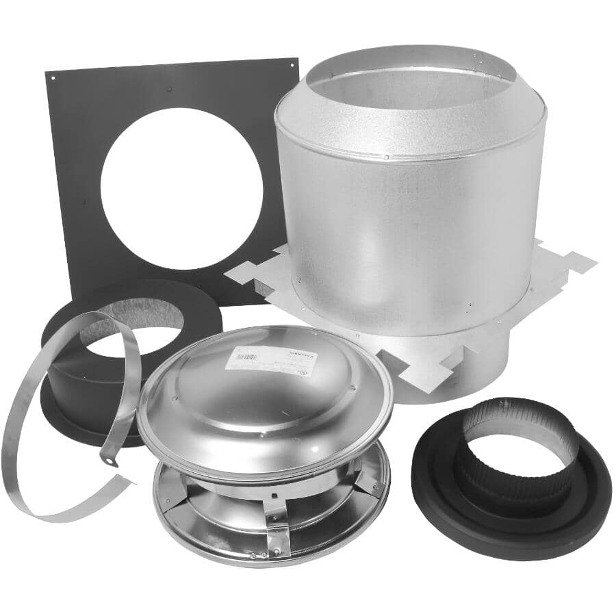 """SELKIRK:6"""" Insulated Ceiling Support Kit - 2"""" Insulation"""