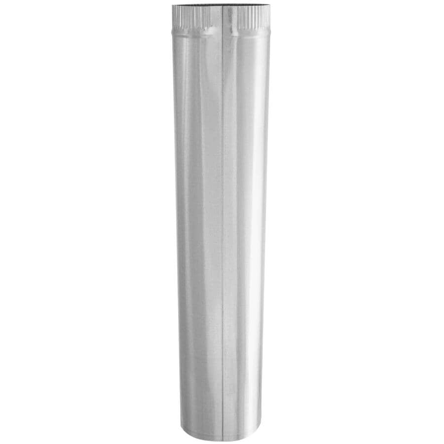 """IMPERIAL MANUFACTURING:6"""" x 30"""" 30 Gauge Galvanized Duct Pipe"""
