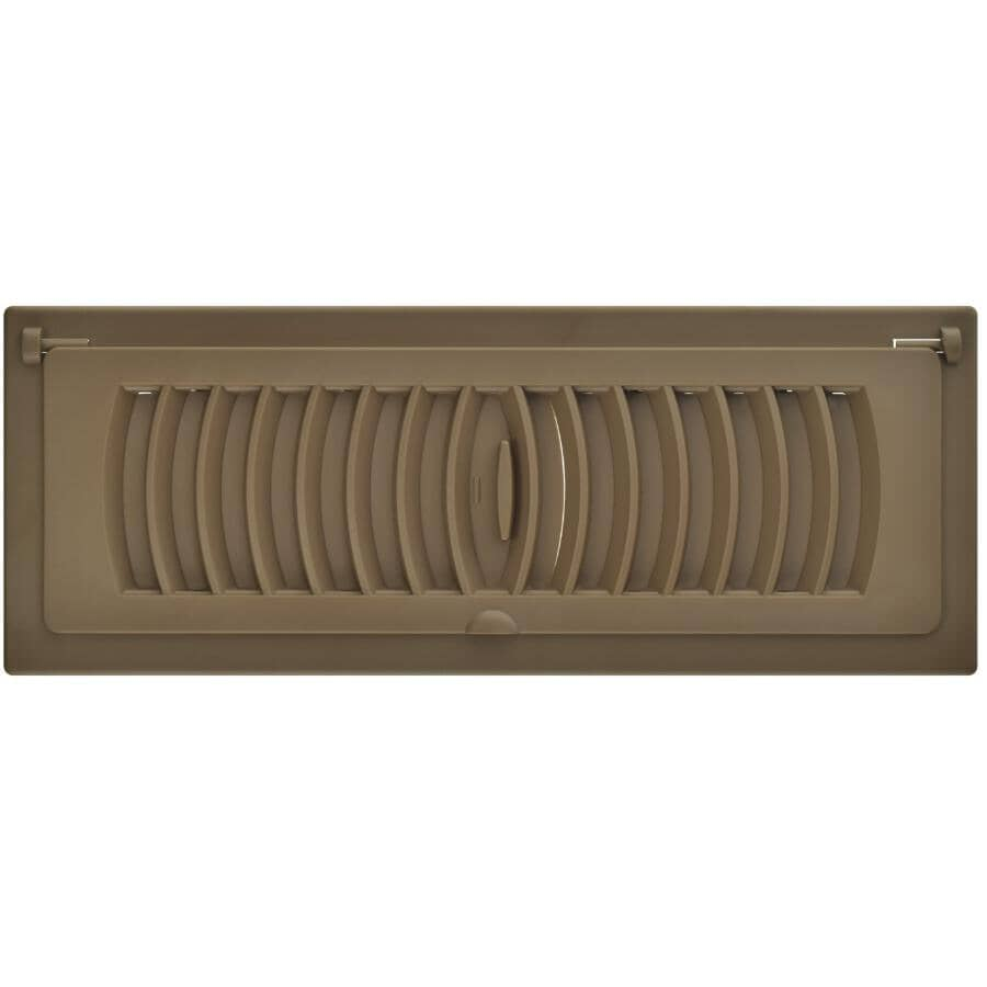 """IMPERIAL MANUFACTURING:3"""" x 10"""" Tan Pop-Up Poly Air Register"""