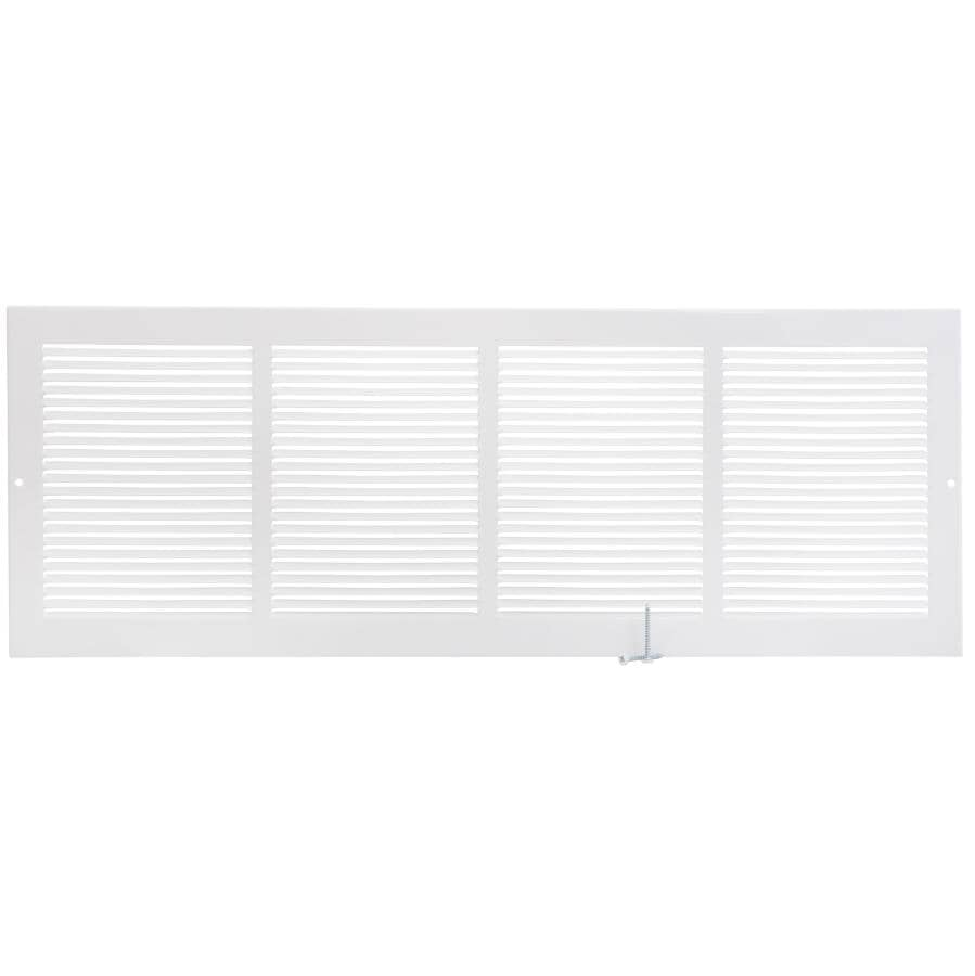 """IMPERIAL MANUFACTURING:8"""" x 24"""" White Sidewall Grille"""