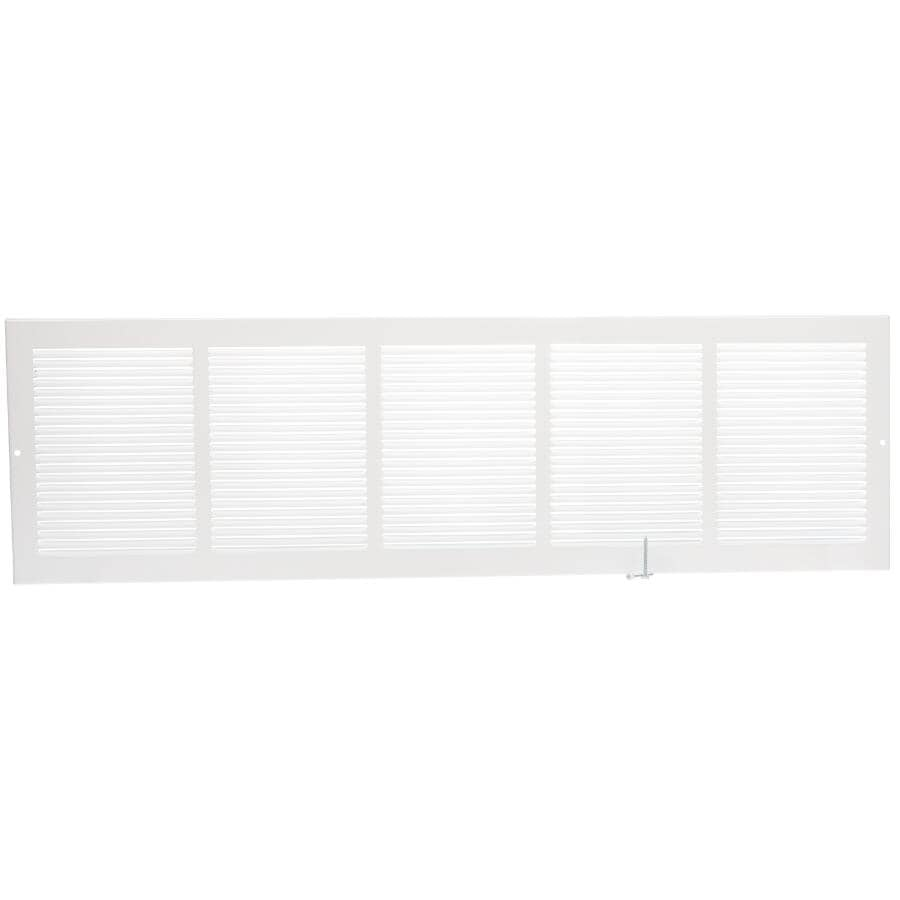 """IMPERIAL MANUFACTURING:8"""" x 30"""" White Sidewall Grille"""
