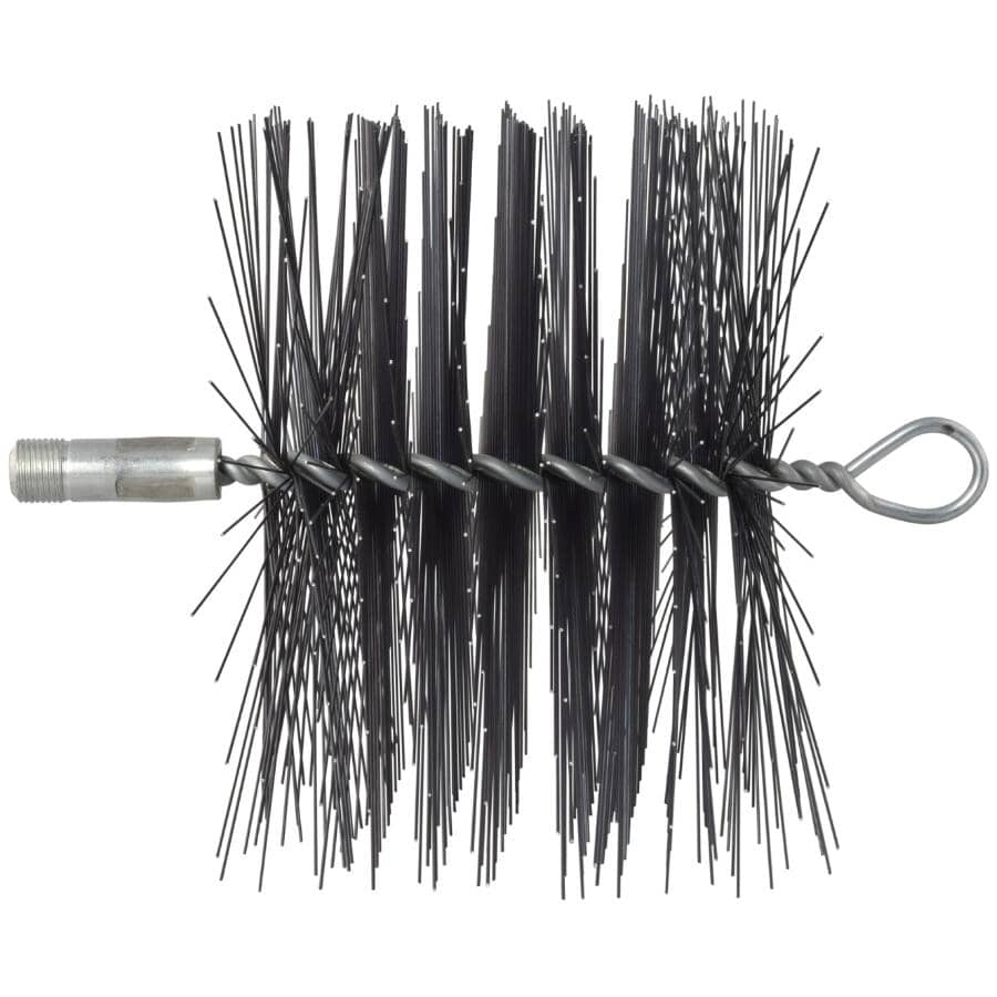 """IMPERIAL MANUFACTURING:SuperSweep Wire Chimney Brush - 7"""" x 7"""", Square"""