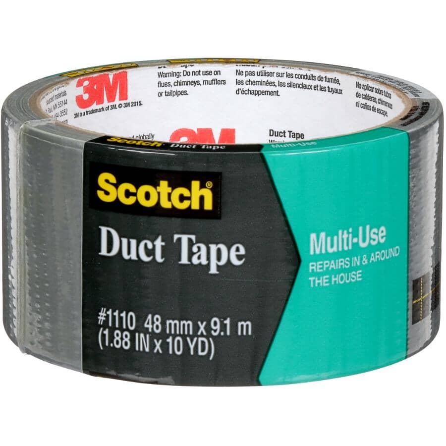 "3M:Multi-Use Duct Tape - 1110-AF, Grey, 1.88"" x 10 yards (48 mm x 9 m)"