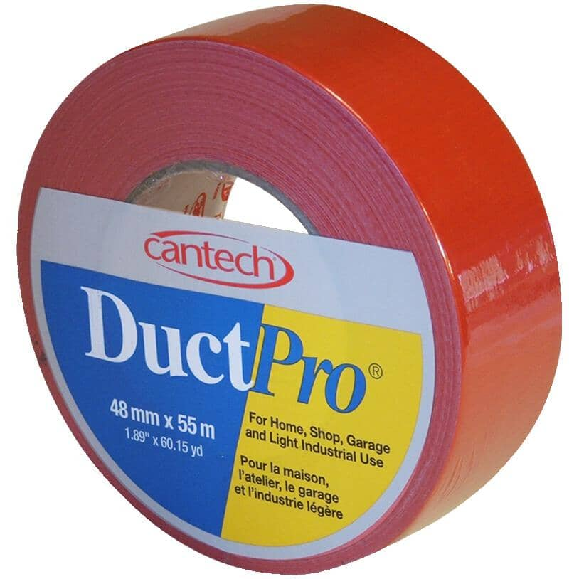 CANTECH:Cloth Duct Tape - 48 mm x 55 m, Red
