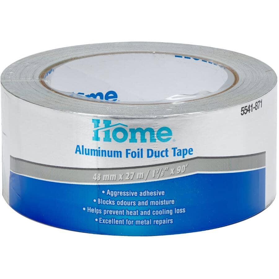 HOME:50.8mm x 27.4M Aluminum Foil Duct Tape