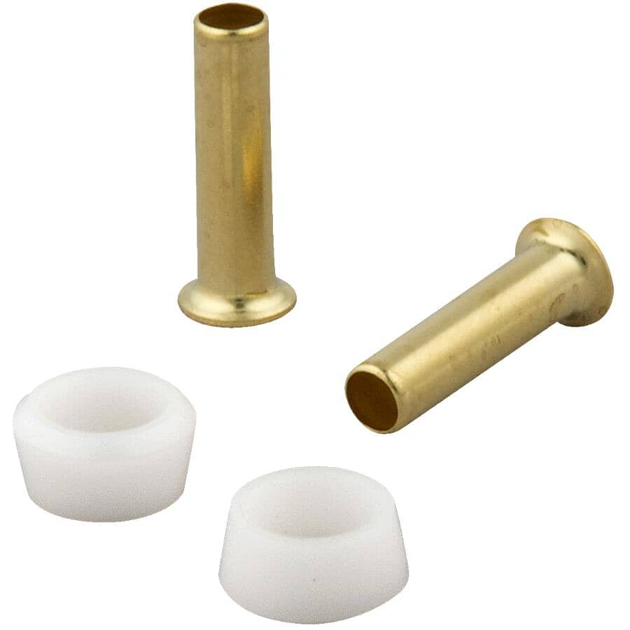"""MASTER PLUMBER:1/4"""" Outside Diameter Brass Compression Inserts"""