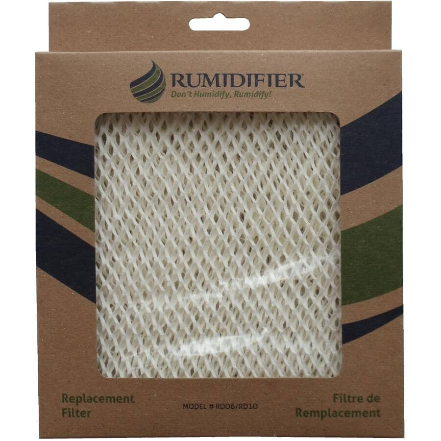 RUMIDIFIER:Humidifier Filter Replacement