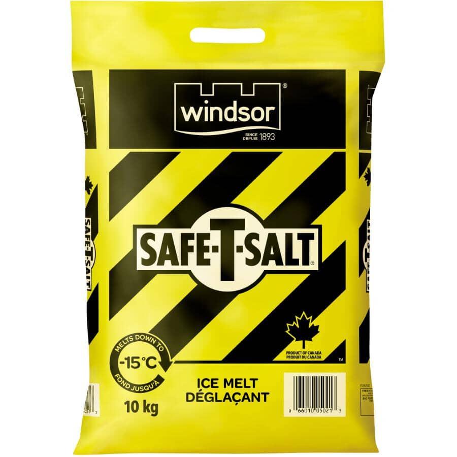 WINDSOR SALT:Safe-T-Salt Ice Melt - 10 kg