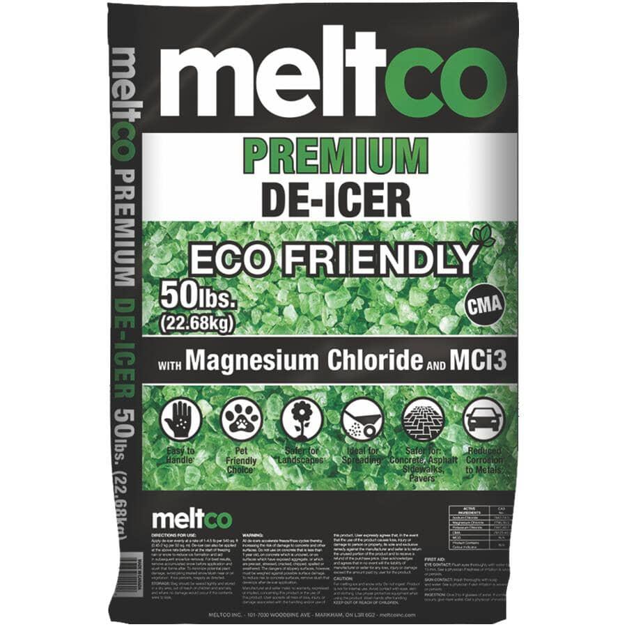 MELTCO:Ice Melt - Eco Friendly 50 lbs