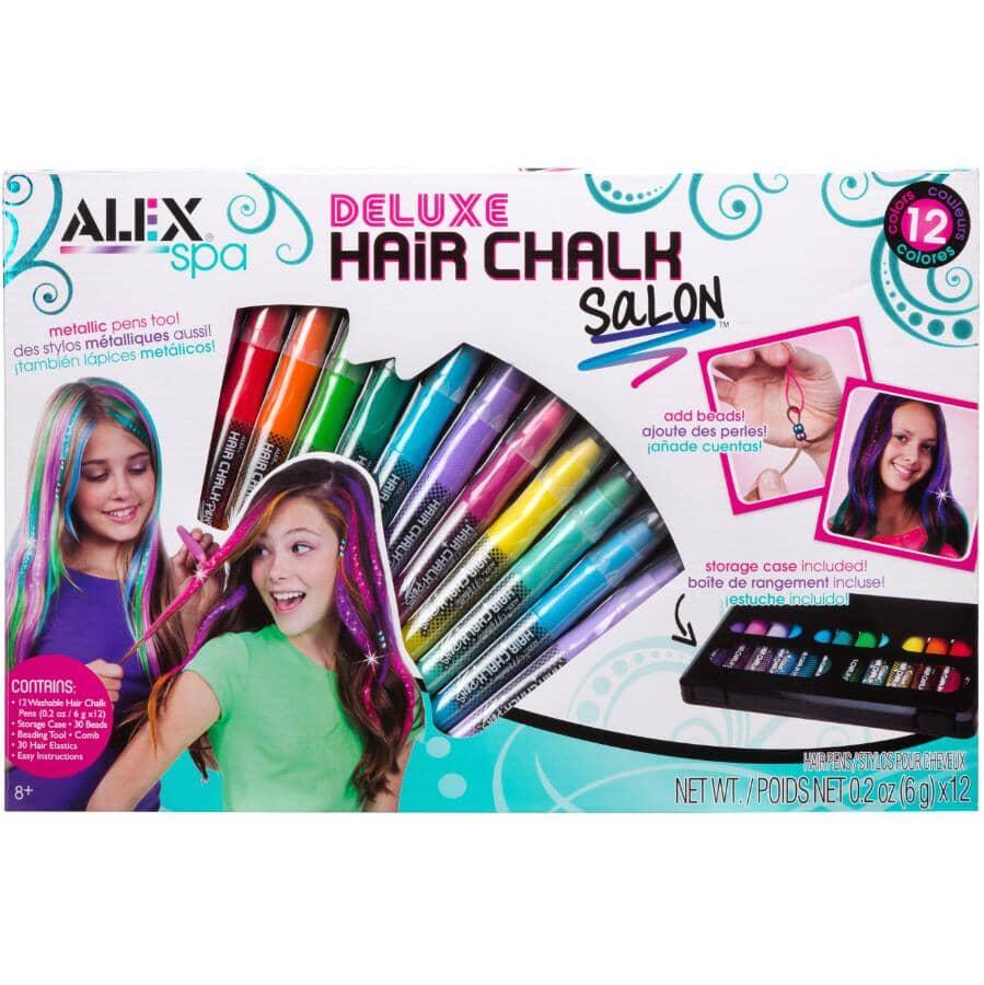 ALEX:Salon de craies de luxe pour cheveux
