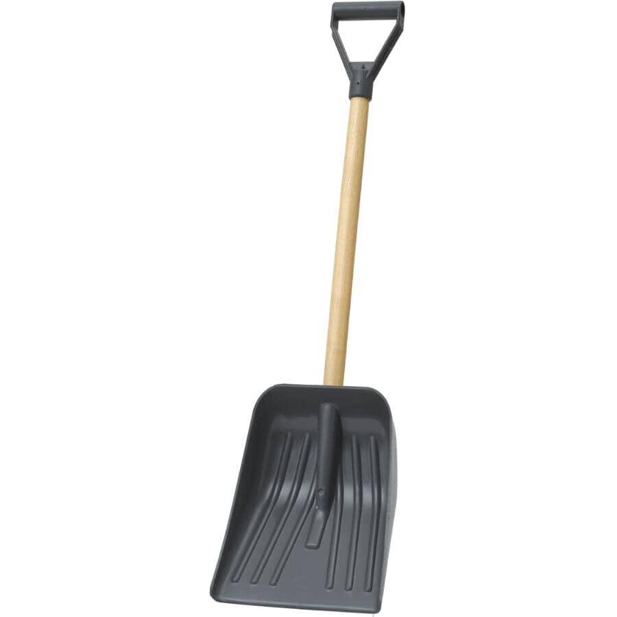 """HOME:10"""" Poly Blade Car Snow Shovel"""