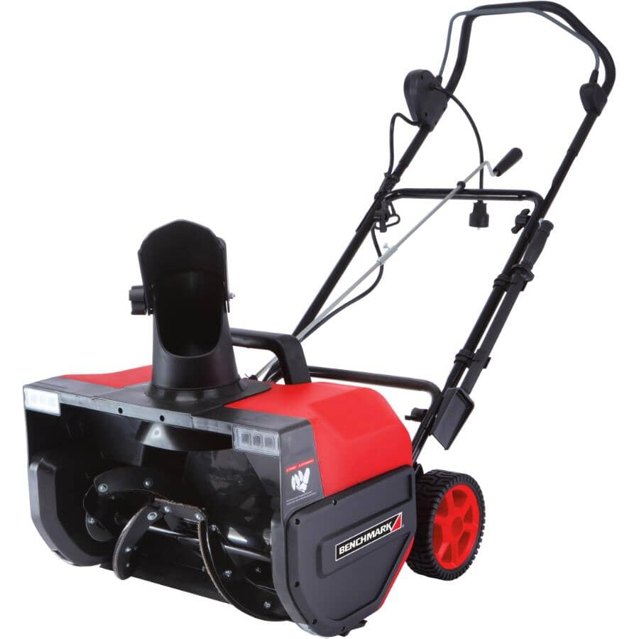 """BENCHMARK:22"""" Electric Snow Blower - 15 amp"""
