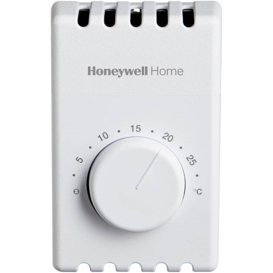 HONEYWELL HOME:Non-Programmable Electric Heat Thermostat - 4-Wire