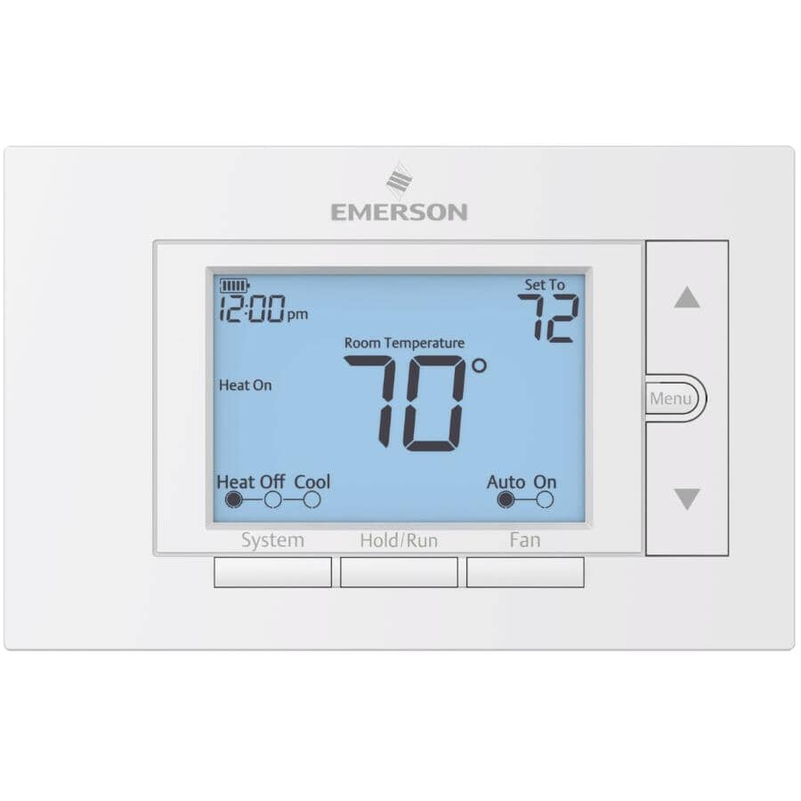 EMERSON:Universal Programmable Thermostat - With 7 Day Scheduling
