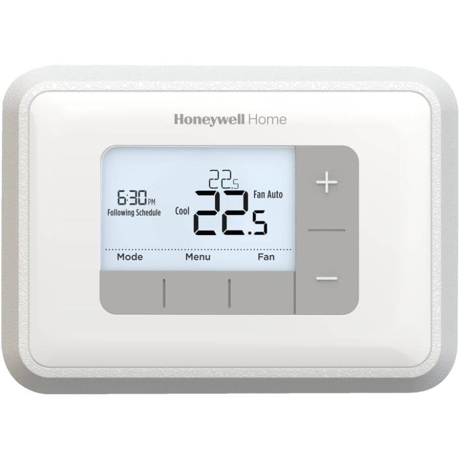 HONEYWELL HOME:Programmable Thermostat - With 5-2 Day Scheduling